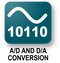 A/D and D/A conversion