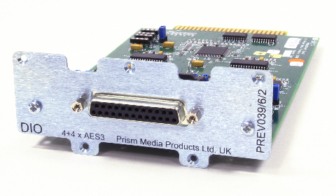 AES Digital I/O module