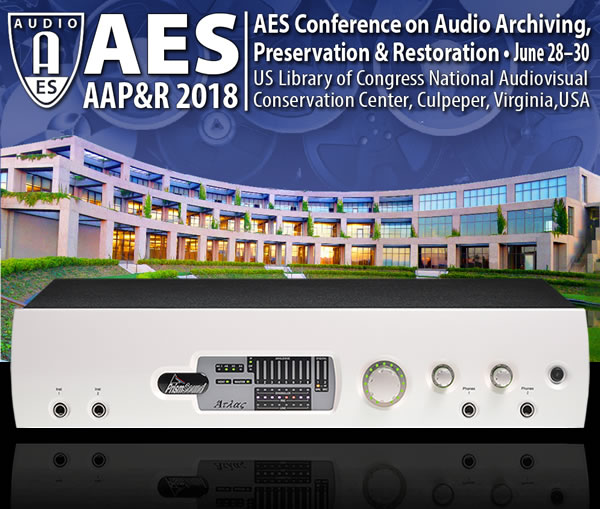 Prism Sound Sponsors AES Archiving, Preservation & Restoration Conference